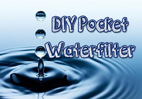 DIY Survival Pocket Waterfilter