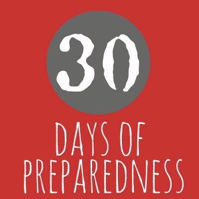 30 Days of Prepping
