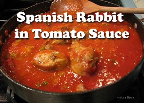 Spanish Rabbit in Tomato Sauce
