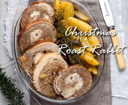 Christmas Roast Rabbit
