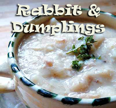 rabbit and dumplings