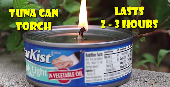 tuna can torch
