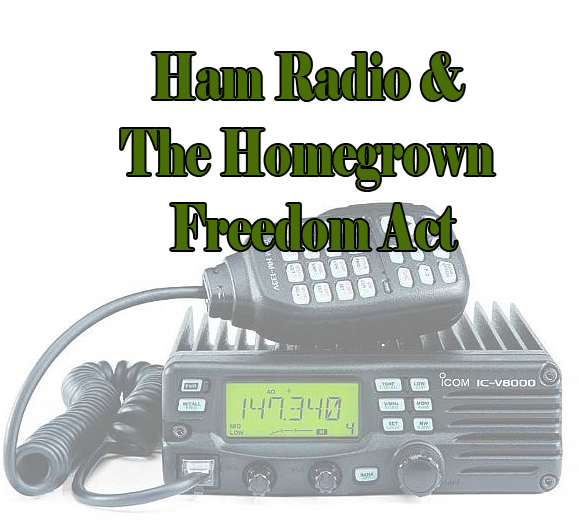 Ham Radio & The Homestead Freedom Act