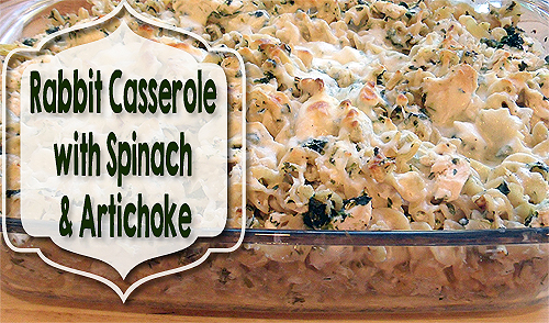 Rabbit Casserole Recipe