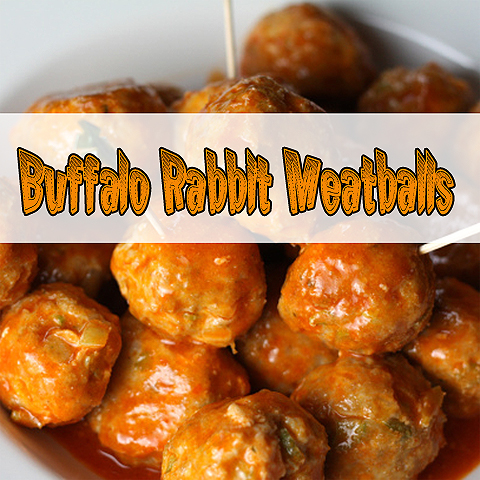 Buffalo Rabbit Meatballs