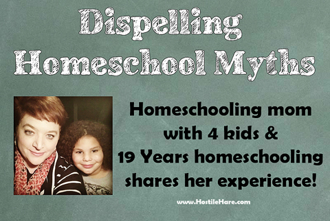 Dispelling Homeschool Myths via HostileHare.com