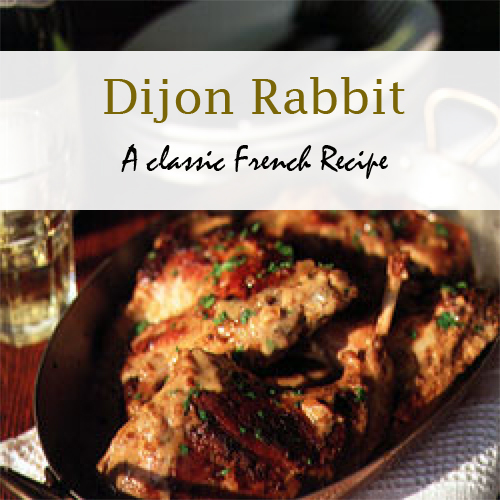 Dijon Rabbit Recipe via HostileHare.com