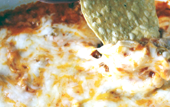 Rabbit Enchilada Dip Recipe | via HostileHare.com