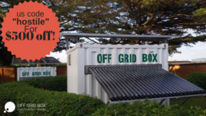 Going Off grid with the OffGridBox