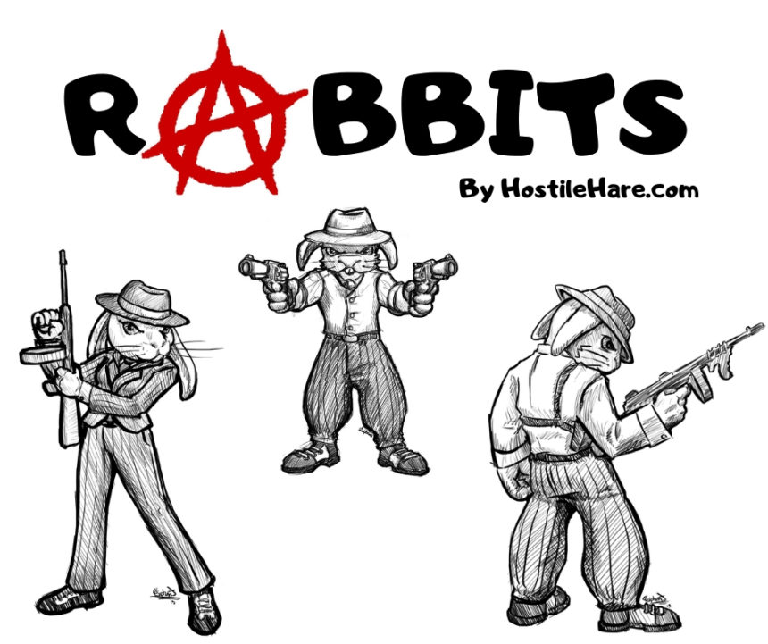 Rabbits: Livestock of Agorism, Volunteerism, and Anarchism